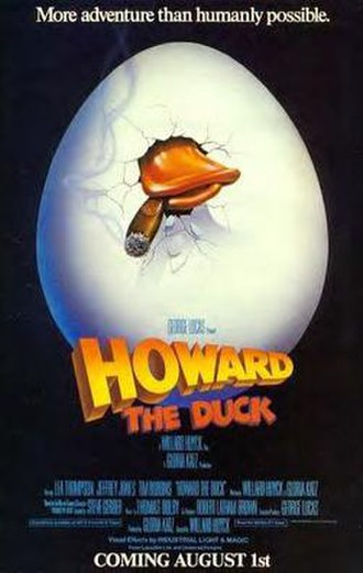 Howard the Duck (film) - Theatrical release poster