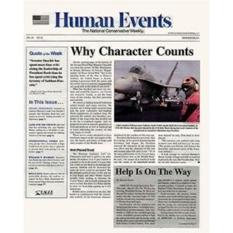 Human Events - Image: Human Events cover
