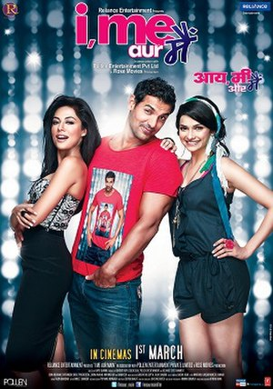 I, Me Aur Main - Theatrical release poster