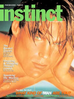 Instinct (magazine) - First issue, November/December 1997