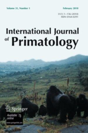 International Journal of Primatology - Image: International Journal of Primatology