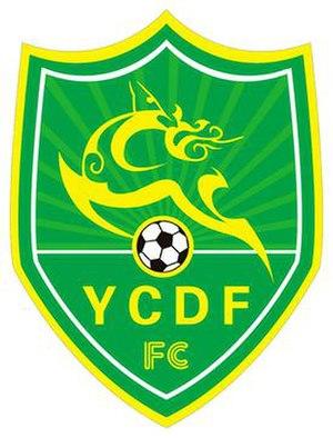 Jiangsu Yancheng Dingli F.C. - Image: Jiangsu Yancheng Dingli FC logo