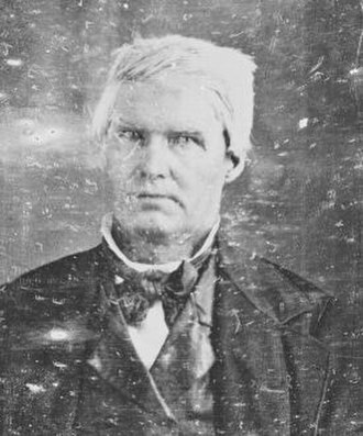 Joseph Naper - Joseph Naper town founder of Naperville, Illinois, circa 1850s-1860s