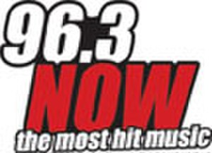 KQGO - 96.3 Now logo from 2010 to 2011