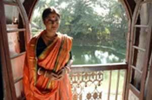 Kaalpurush - Laboni Sarkar, portraying the character of Mithun's wife in the film