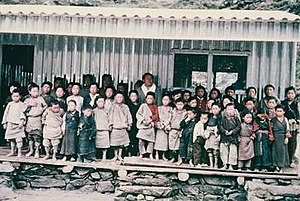 Himalayan Trust - Khumjung School in 1961