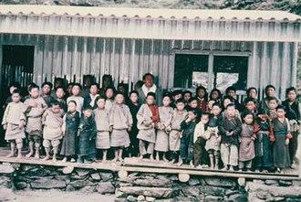 Himalayan Trust - Khumjung School in 1961