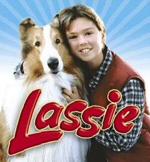 Lassie (1997 TV series) - DVD cover