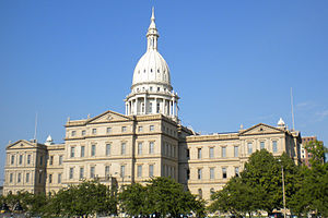 Lansing, Michigan - Michigan State Capitol