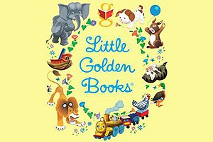 Little Golden Books - A typical example of the Little Golden Books logo.
