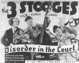 Three Stooges in 'Disorder in the Court'