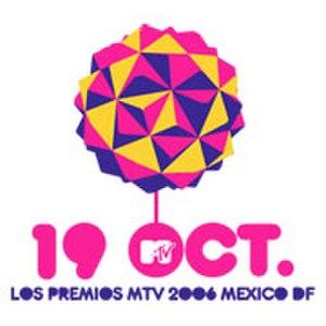 Los Premios MTV Latinoamérica 2006 - Image: Logomtvvmala 2006