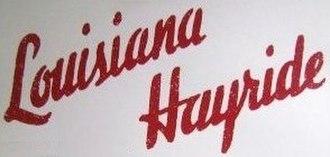 Louisiana Hayride - Image: Louisiana Hayride Logo