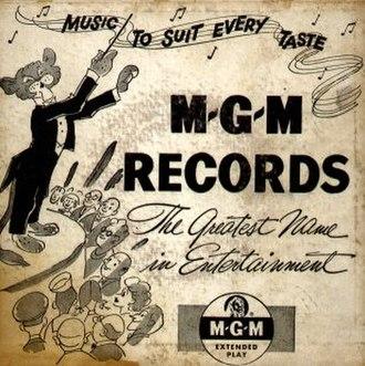 MGM Records - Image: MGM Record 45