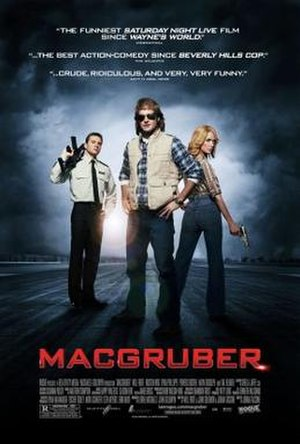 MacGruber (film) - Theatrical release poster