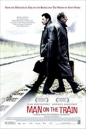 The Man on the Train - United States theatrical poster
