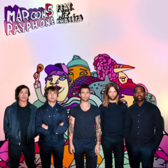 Payphone (song) - Image: Maroon 5 Payphone cover