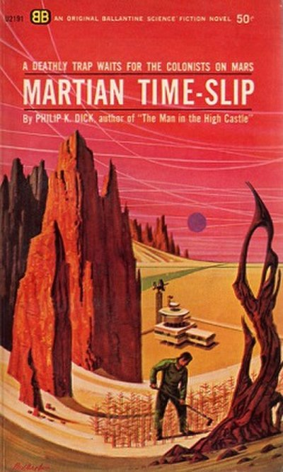 Picture of a book: Martian Time-Slip