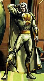 Portion of a panel from The Trials of Shazam #2 (November 2006) featuring Marvel. Art by Howard Porter.