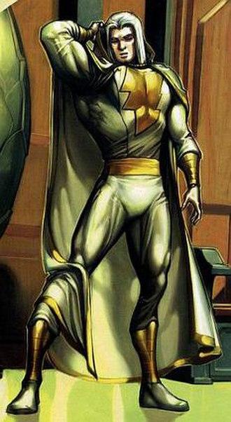 Shazam (wizard) - Image: Marvel White Costume 2