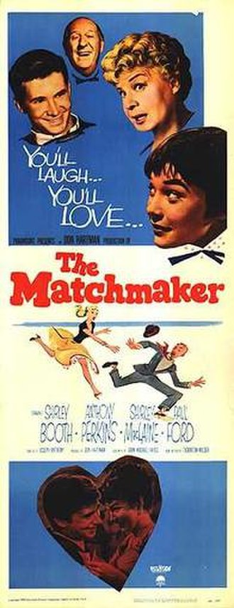 The Matchmaker (1958 film) - One of theatrical release posters