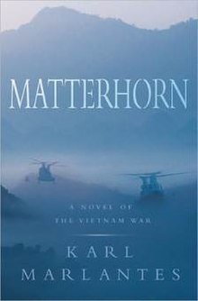 Matterhorn (Karl Marlantes novel) cover art.jpg