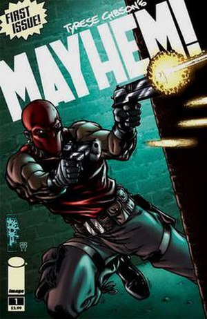 Mayhem! (comics) - Cover of the first issue
