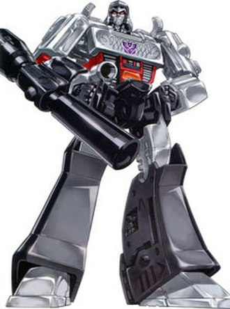 Megatron - Generation 1 Megatron art.