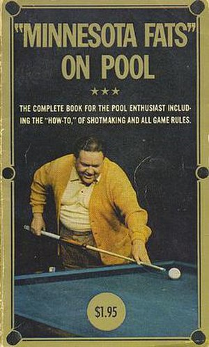 Rudolf Wanderone - Front cover of Minnesota Fats on Pool (1967)