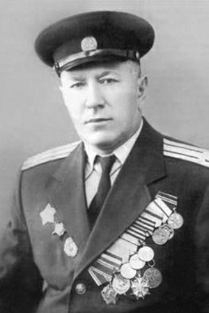 Recipients of the Legion of Merit - Movlid Visaitov, a Chechen colonel and a commander of 255th Separate Chechen–Ingush cavalry regiment, first to meet American forces on the Elbe river during World War II.