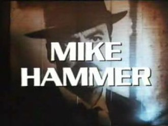 Mickey Spillane's Mike Hammer (1984 TV series) - Image: Msmh title card