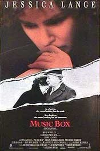 Music Box (film) - Theatrical release poster