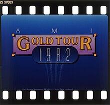 Varba glitado por la AMI Gold Tour, 1983.