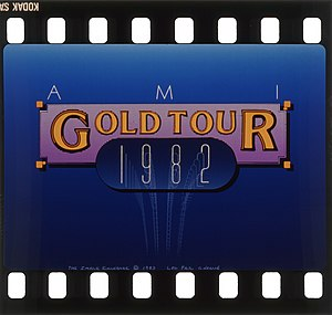 Multi-image - AMI Gold Tour promotion.