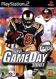 <i>NFL GameDay 2001</i> 2000 video game