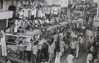 Navnirman Andolan Socio-political movement that occurred in 1974 in Gujarat, India