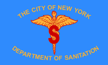 New York City Department of Sanitation flag.png