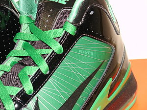 Nike Flywire - Close up image of the Flywire on a Nike Air Max Hyperfly Supreme