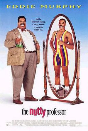 The Nutty Professor (1996 film) - Theatrical release poster