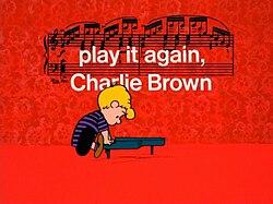play it again charlie brown full movie