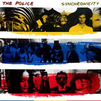 Synchronicity (The Police album) - Image: Police album synchronicity
