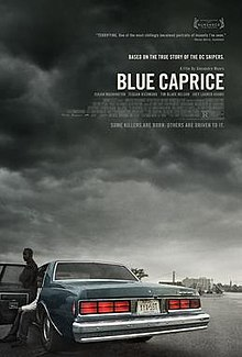 "Poster Art for the 2013 Feature Film ""Blue Caprice"""