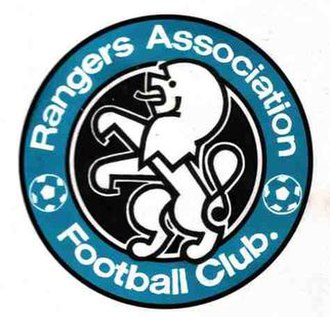 Rangers A.F.C. - Image: Rangers AFC badge