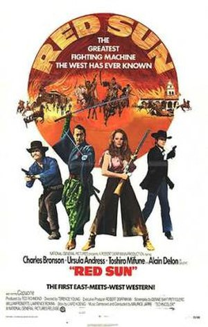 Red Sun - US film poster