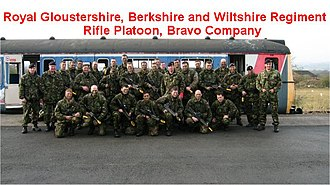 Royal Rifle Volunteers - Members of the former B Company on exercise
