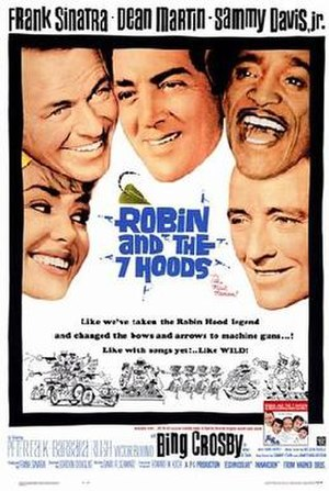 Robin and the 7 Hoods - theatrical release poster