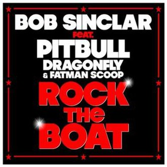 Rock the Boat (Bob Sinclar song) - Image: Rock the Boat single