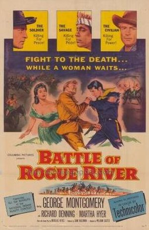 The Battle of Rogue River - Original film poster