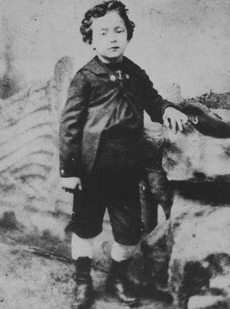 Umberto Saba - Saba as a child