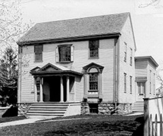 Sabbath in Christianity - Oldest Sabbatarian Meeting House in America (Seventh Day Baptists), built in 1729 in Newport, Rhode Island, now owned by Newport Historical Society.